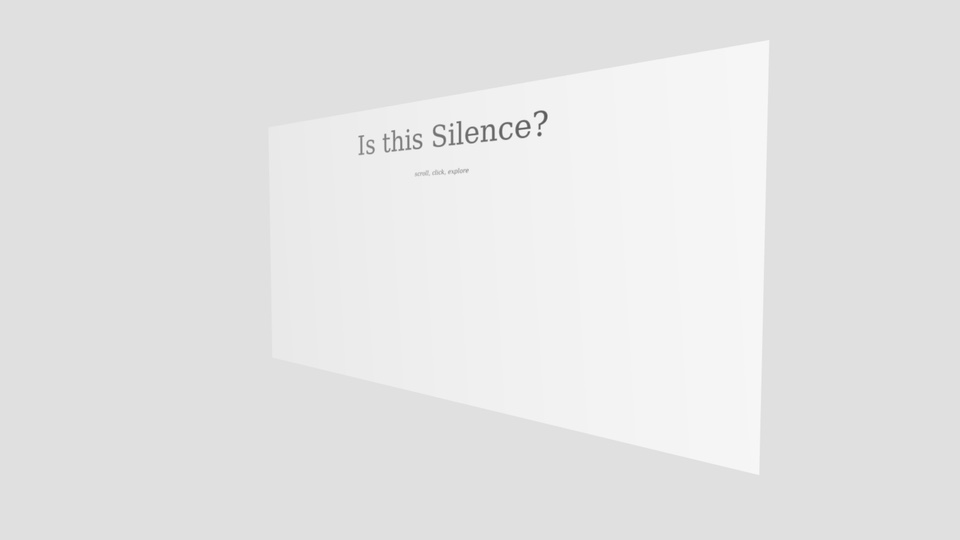 Is this Silence?